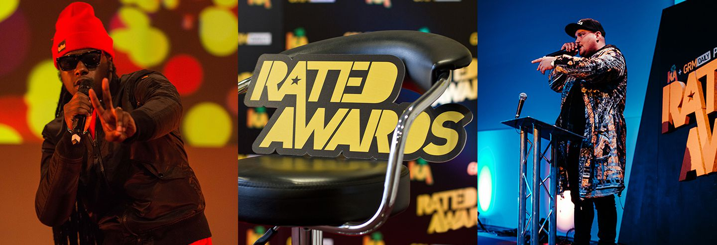 Pictures from Get Rated awards